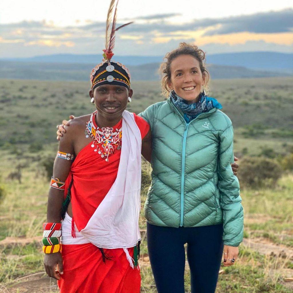 Nina Butler in Kenia