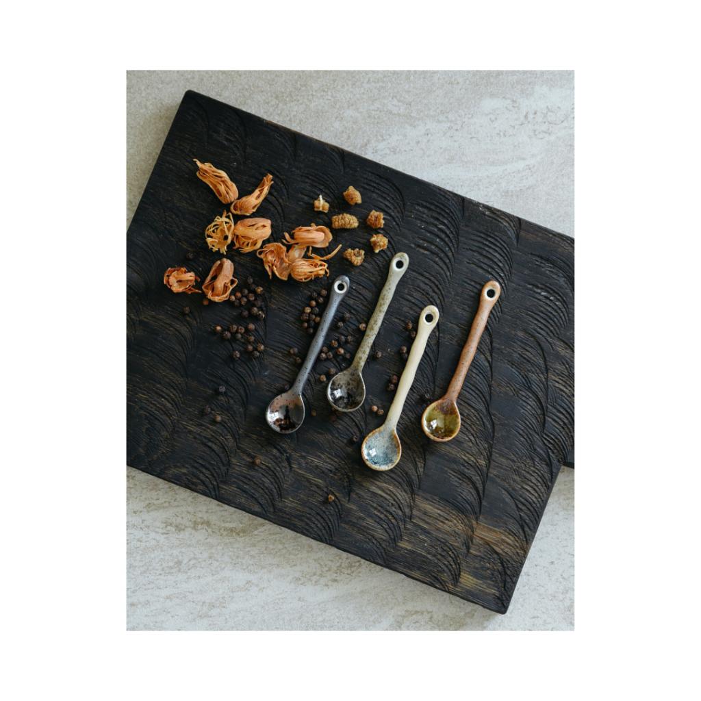 Kyoto Ceramic Japanese Spoons (SET OF 4) | Feminien Moederdag Cadeaus