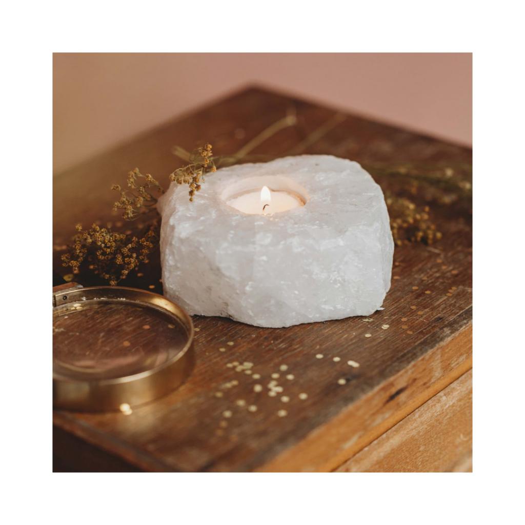 Spirit Junkies Bergkristal Lichtje | Feminien Moederdag Cadeau