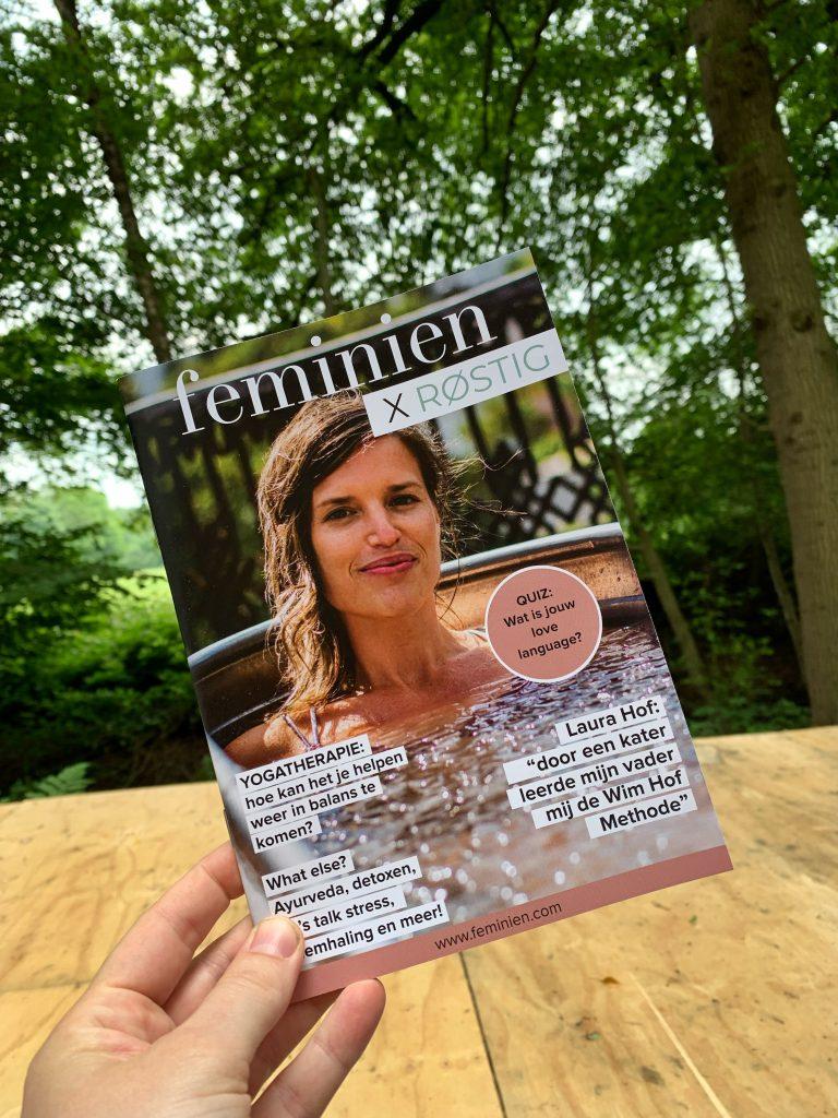geprint feminien magazine
