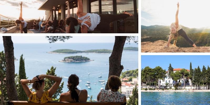 6-daags yoga retreat Nina Butler Kroatie | Feminien