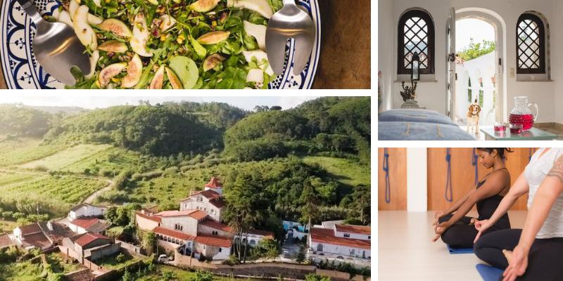7-daags Iyengar Yoga Retreat Columbeira Portugal | Feminien